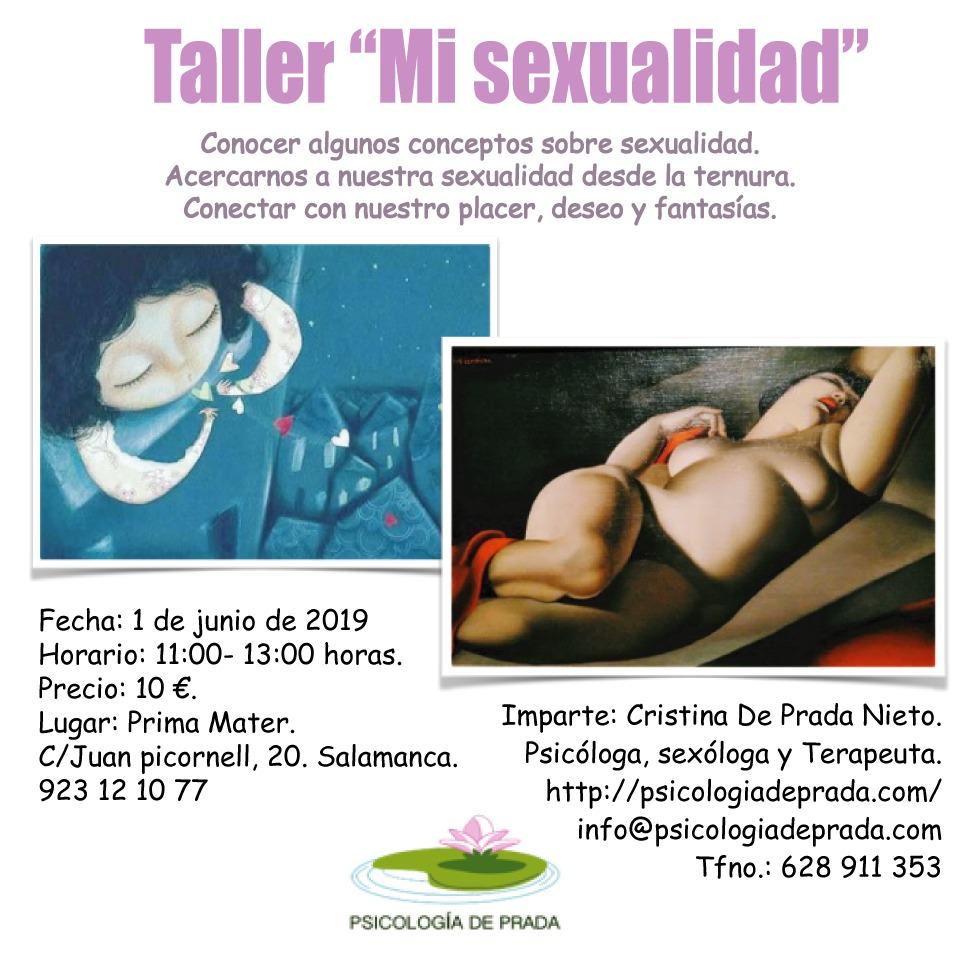 Taller «Mi Sexualidad» (Salamanca)